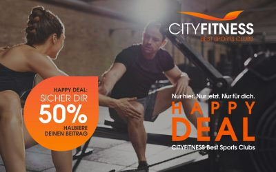 HAPPY DEAL: SICHER DIR 50 %