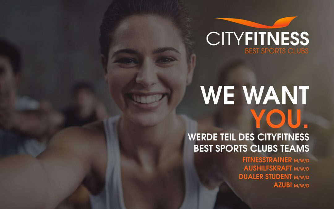 WE WANT YOU: Fitnesstrainer, dualer Student,…