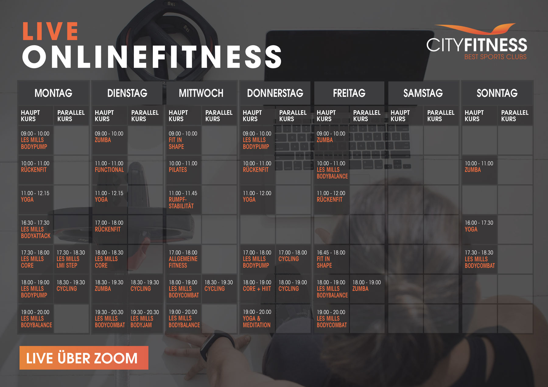 CITYFITNESS Onlinefitness